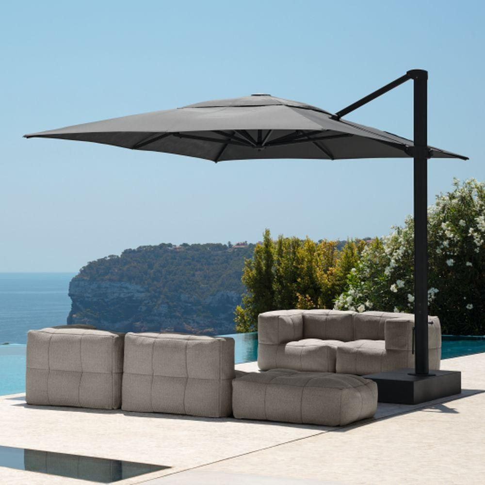 Modern Side Arm External Umbrella | Luxury Side Arm Umbrella | Side Arm Parasol | High End Parasol | Luxury Quality
