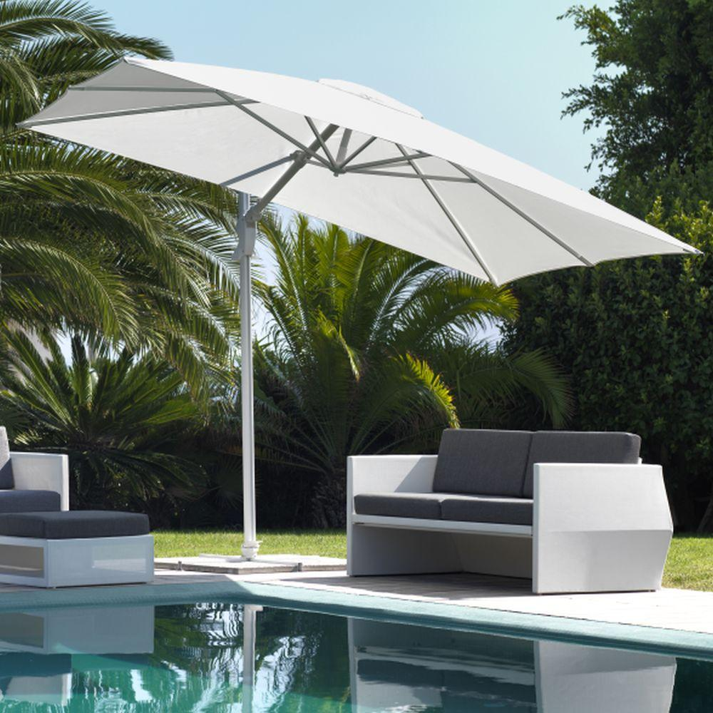 Sleek Adjustable Parasol | Luxury Sleek Garden Umbrella | Luxury Garden Parasol | High End Umbrella | Luxury Quality