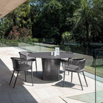 Simple Outdoor Metal Table | Luxury Outdoor Tables | Luxury Dining Table | Luxury Drinks Table | Luxury Furniture
