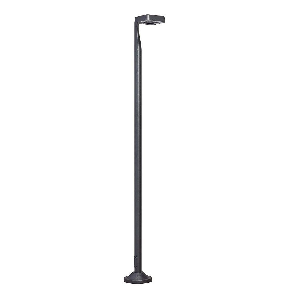 Urban Square Outdoor Floor Light | High End Garden Square Floor Lamp Made in France | Red Dark Grey White