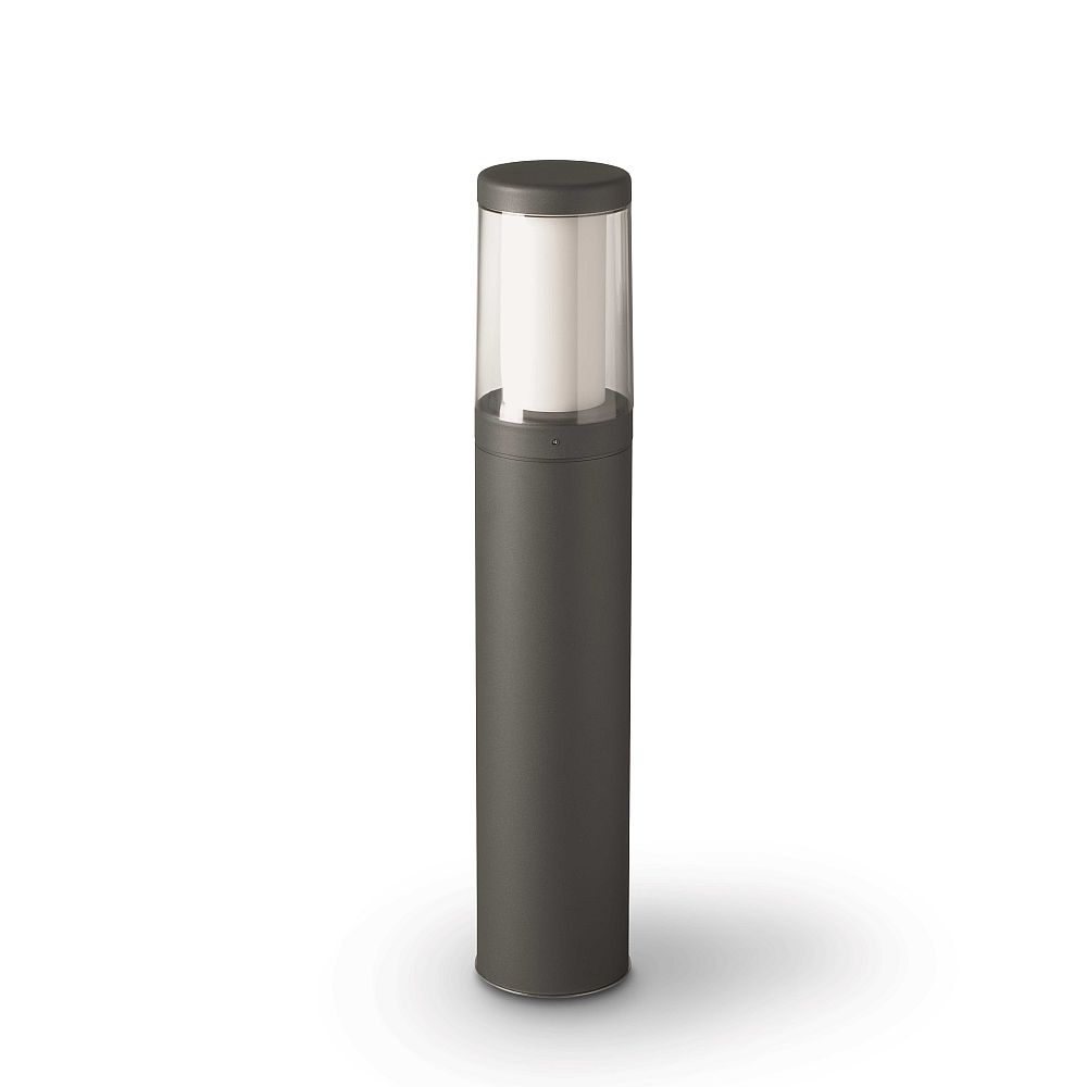 Contemporary Tubular LED Exterior Bollard | Italian Luxury LED Bollard Light