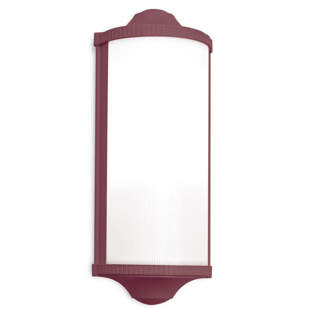 Modern Garden Metal Wall Sconce | simple exterior French luxury wall light | small medium | white black red brown