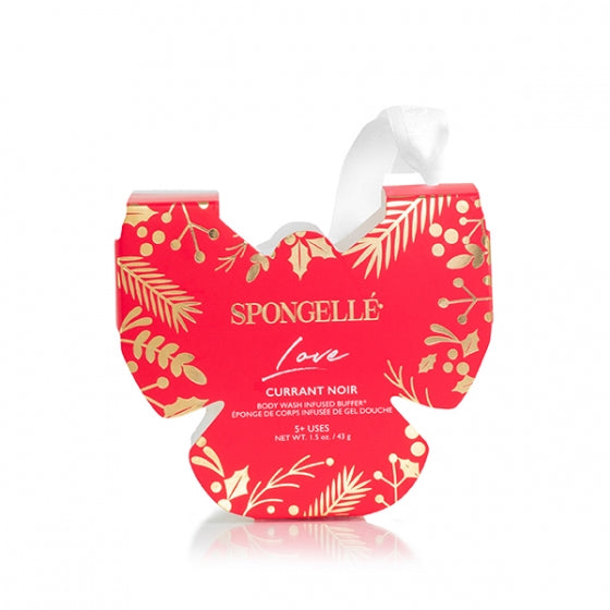 Spongelle Butterfly Ornament - Love  - Currant Noir