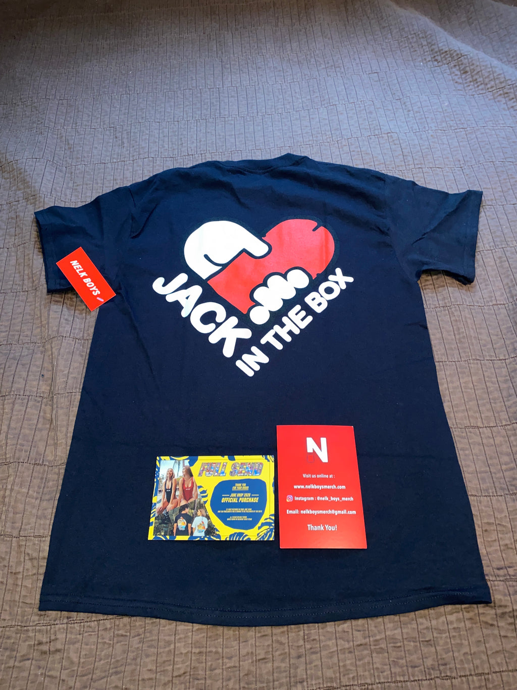 Nelkboysmerch Com 100 Authentic Nelk Merchandise For Resale Saying no will not stop you from seeing. authentic nelk merchandise for resale