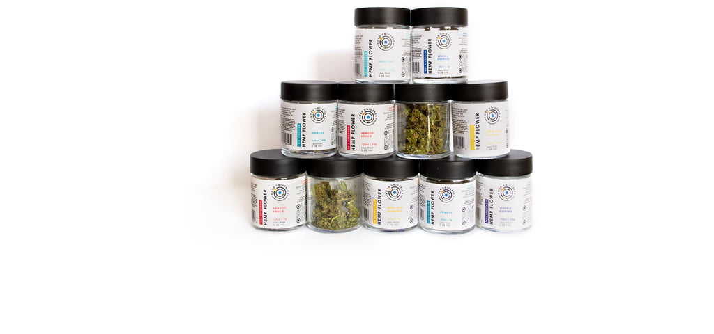 Smokable and infusible hemp flower that pairs well with LEVO oil infusion. Choose from a variety of sun grown strains.