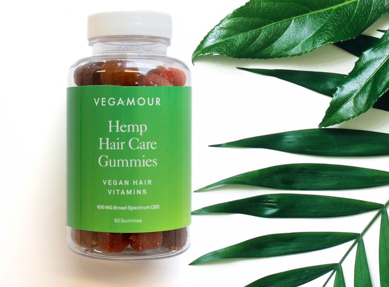 Vegamour hair care CBD Gummies with hemp extract. Private Label manufacturing from CBD Universe. Looking to wholesale, white label, bulk, or private label your own CBD brand? CBD Universe can make you bottles of CBD vitamin gummies.