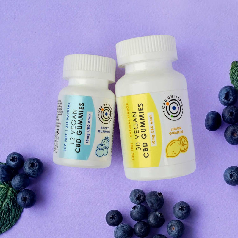 What are the best CBD Gummies? CBD Universe Gummies are the best tasting, all natural, vegan CBD gummies. Infused with 10mg Pure CBD each and available in affordable 12-count and 30-count bottles.
