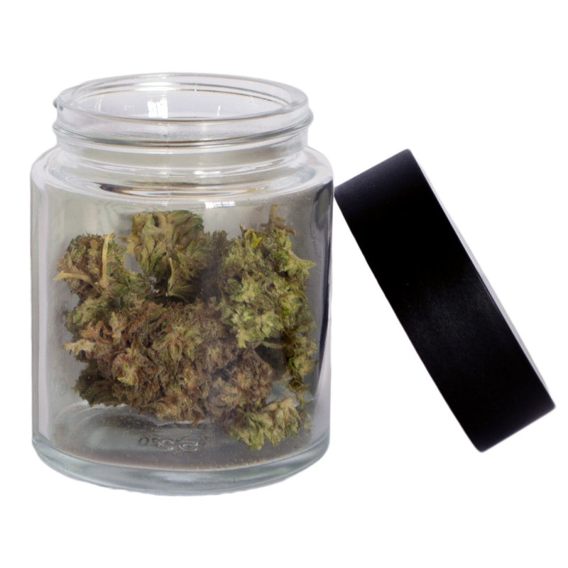 CBD hemp flower comes in glass jars which can be recycled. Hemp flower can be rolled into smokable joints or infused into oil and butter at home.