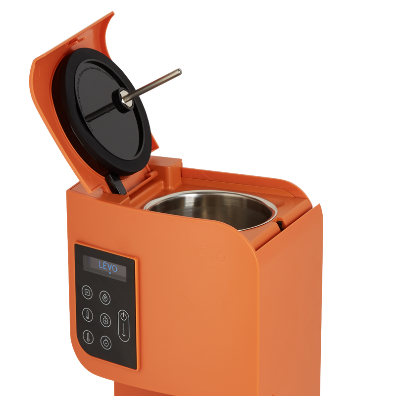 Allowing you to infuse oil and butter with the flavors and nutrients of herbs, LĒVO I Herbal Oil Infuser can also infuse fruits and other ingredients at the touch of a button.