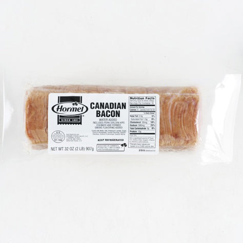 Hormel Canadian Bacon (2lb)