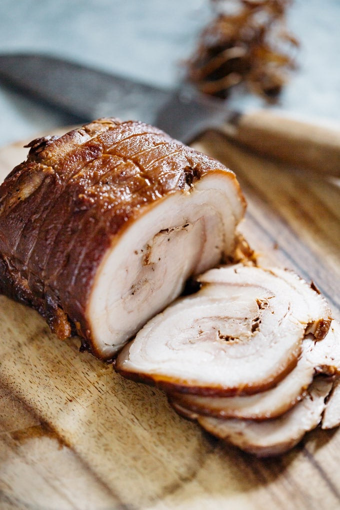 Cooked Pork Belly Chashu