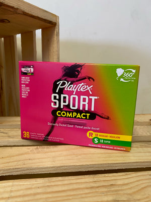 Playtex Sport Compact Tampons - Multipack