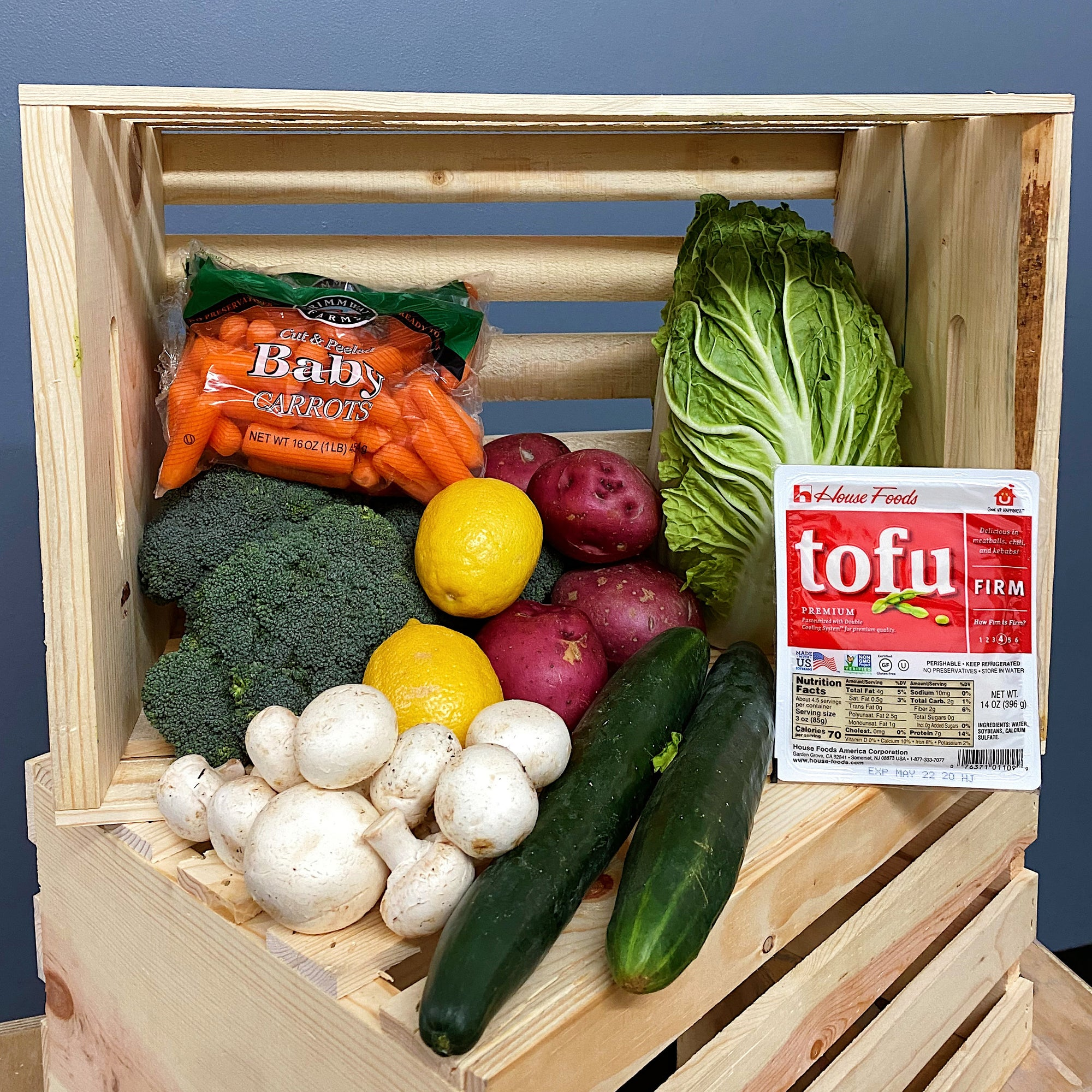 E2-Veggies Box