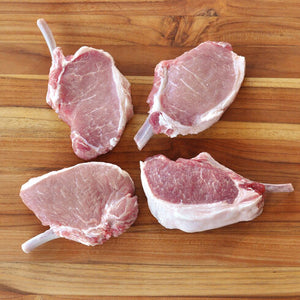 Frenched Pork Chop Bone In (12oz - 4 Pack)