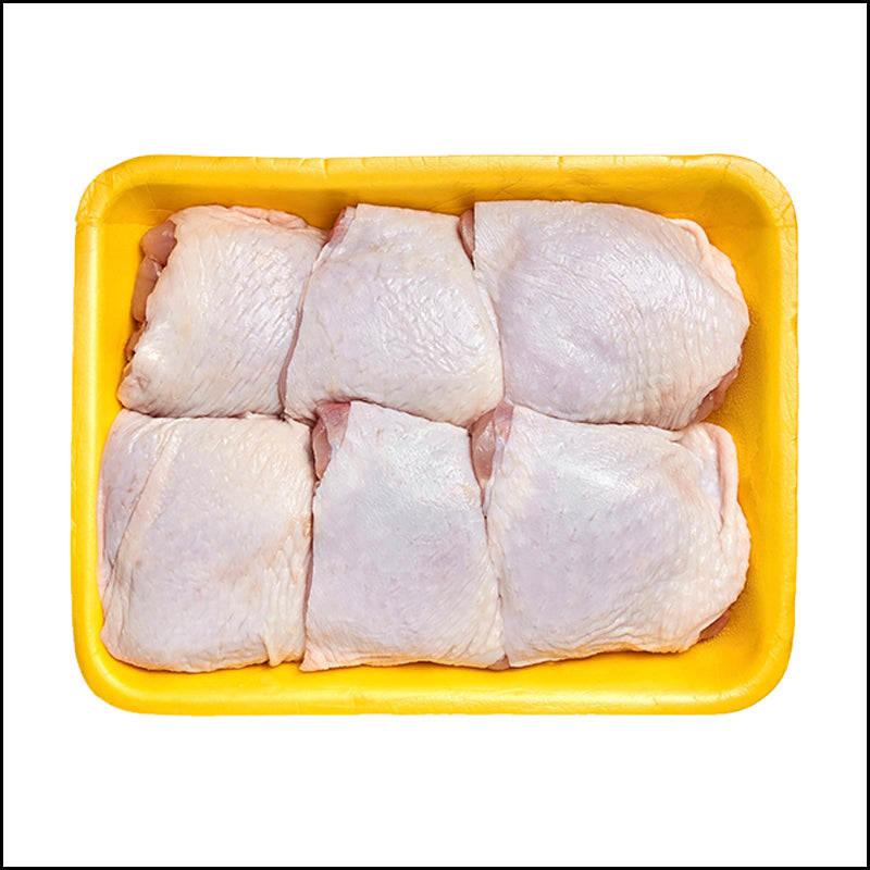 Frozen Skin-On Bone-In Chicken Thighs (10 pieces)