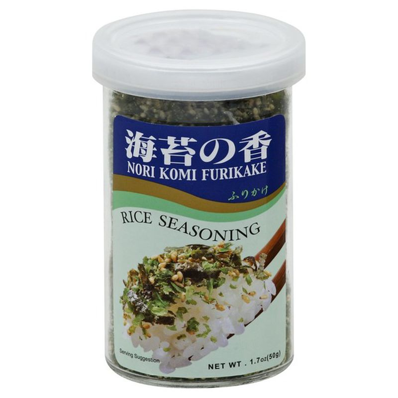 Nori Komi Furikake Seasoning, Rice