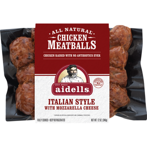 Aidells Chicken Meatballs Italian Style With Mozzarella Cheese
