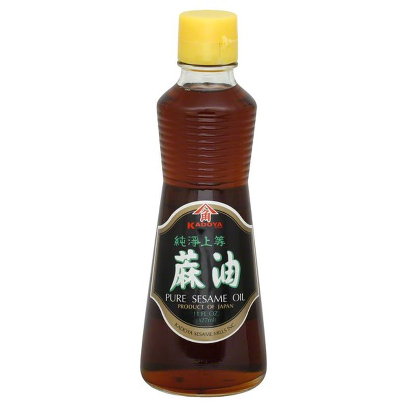Kadoya Sesame Oil, Pure - 11oz