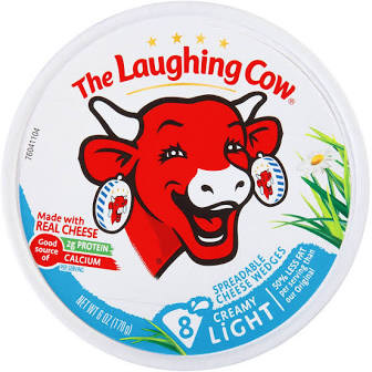 The Laughing Cow Creamy Original Light Swiss Cheese Spread - 6 Oz.