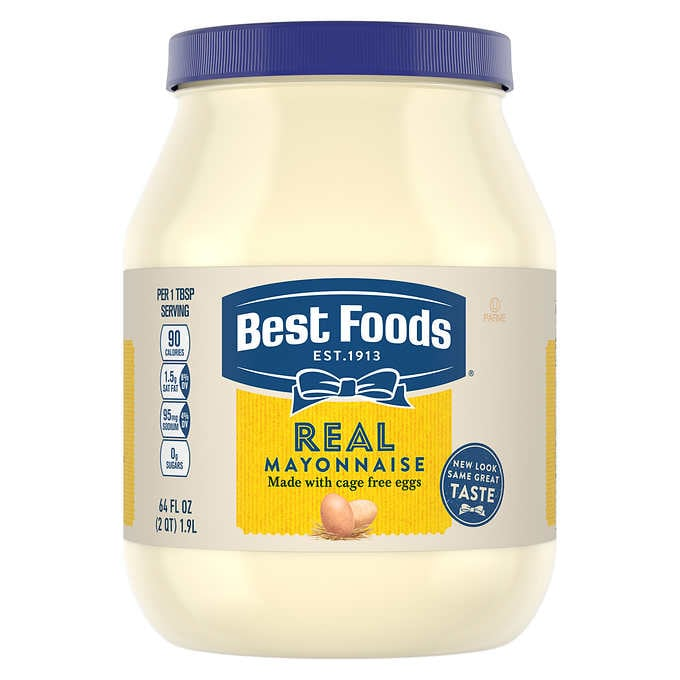 Best Foods Real Mayonnaise 64 oz