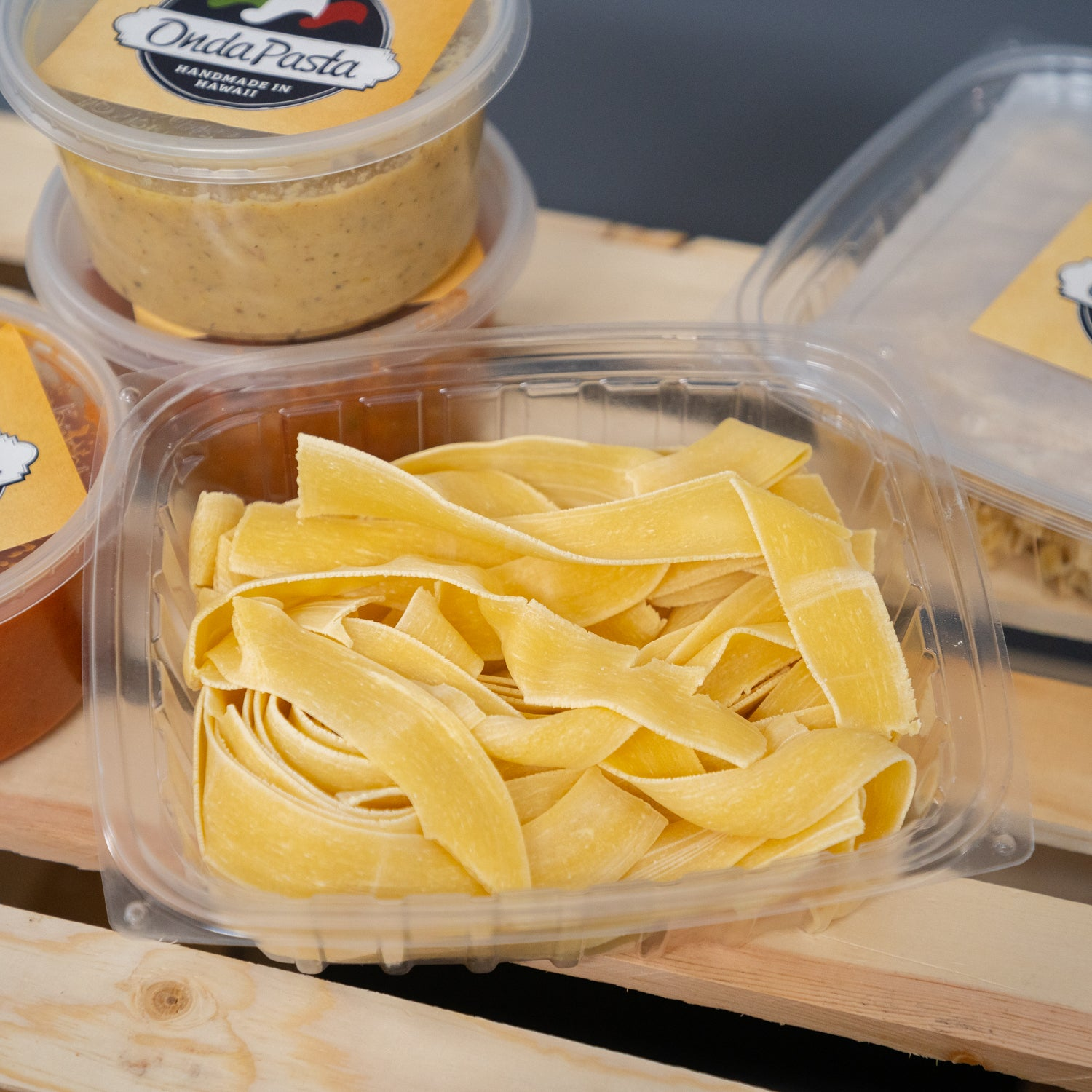 Onda Homemade Boxed Pasta - Pappardelle