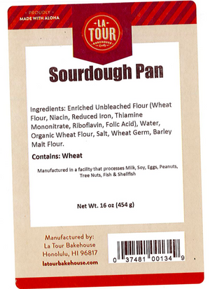 La Tour Bakehouse Sourdough Pan 16oz