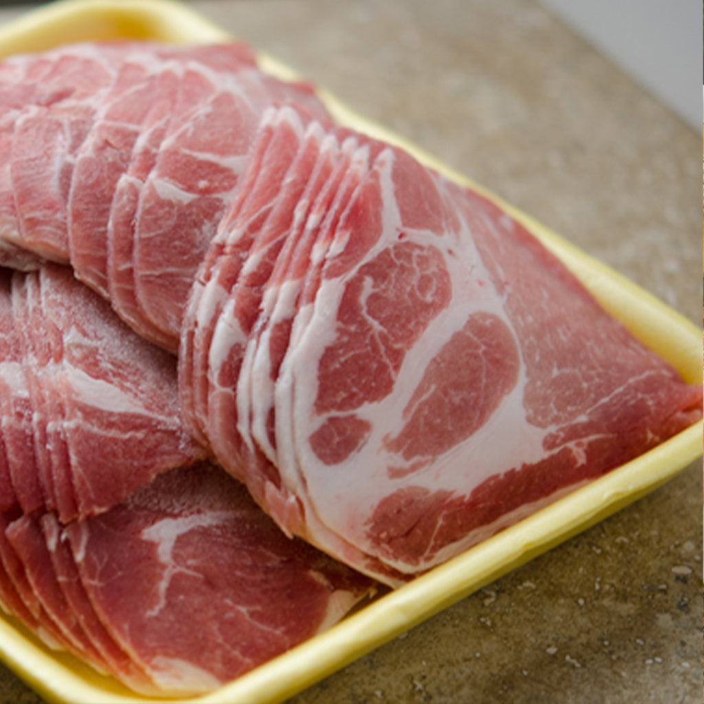 Thin-sliced Pork Shoulder (1lb)