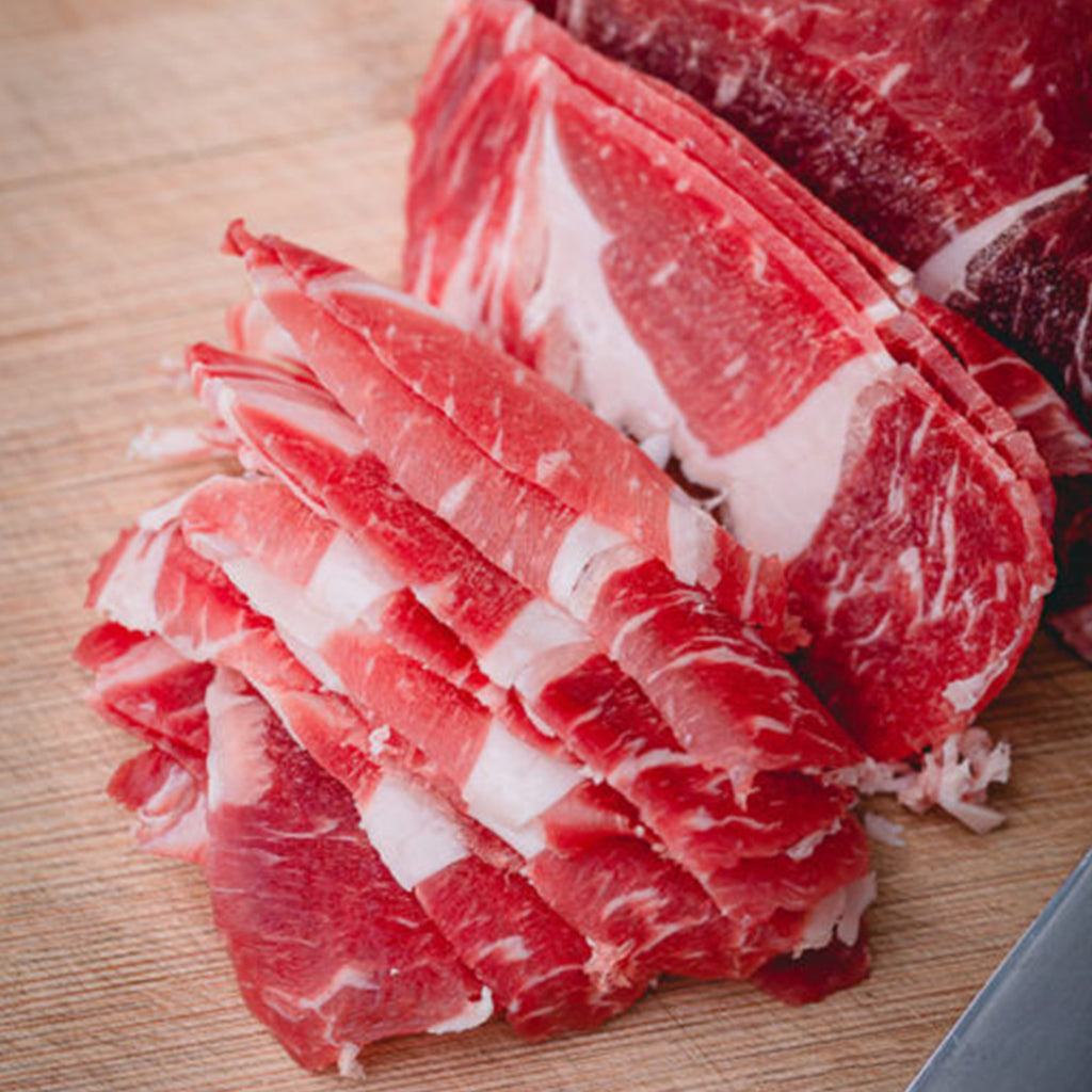 Thin-sliced Rib Eye (1lb)