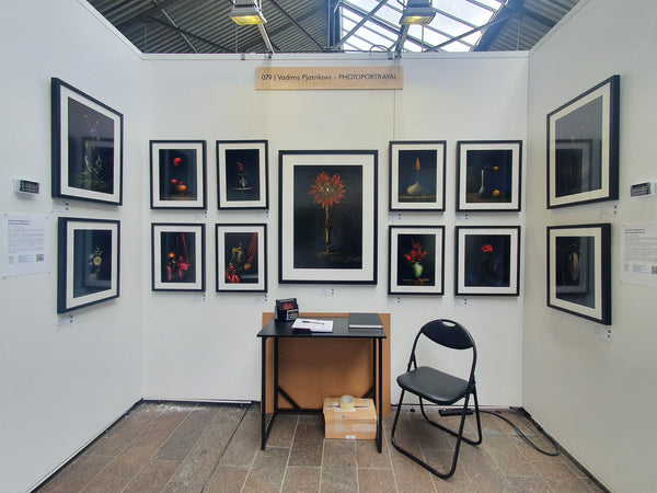 how to organise your stand for an art fair