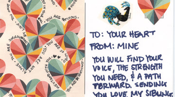 traveling postcards:  supporting assault survivors