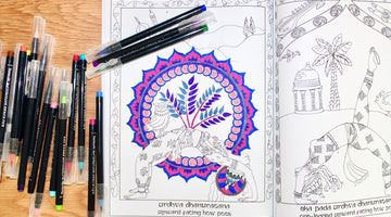 creation over consumption: the benefits of coloring