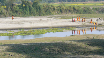inspiration from India:  New Year's Day, Majuli, Assam