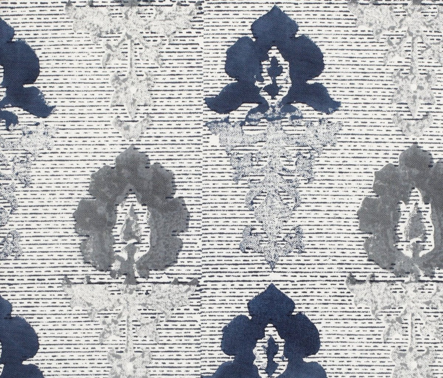 Navy Monsoon fabric