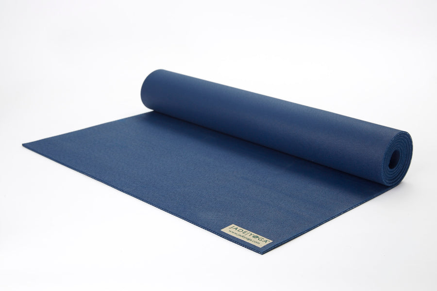 "Travel Mat by Jade Yoga 68"" Midnight Blue"
