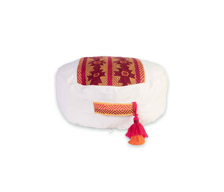 Zafu Meditation Cushion Awamaki Maroon