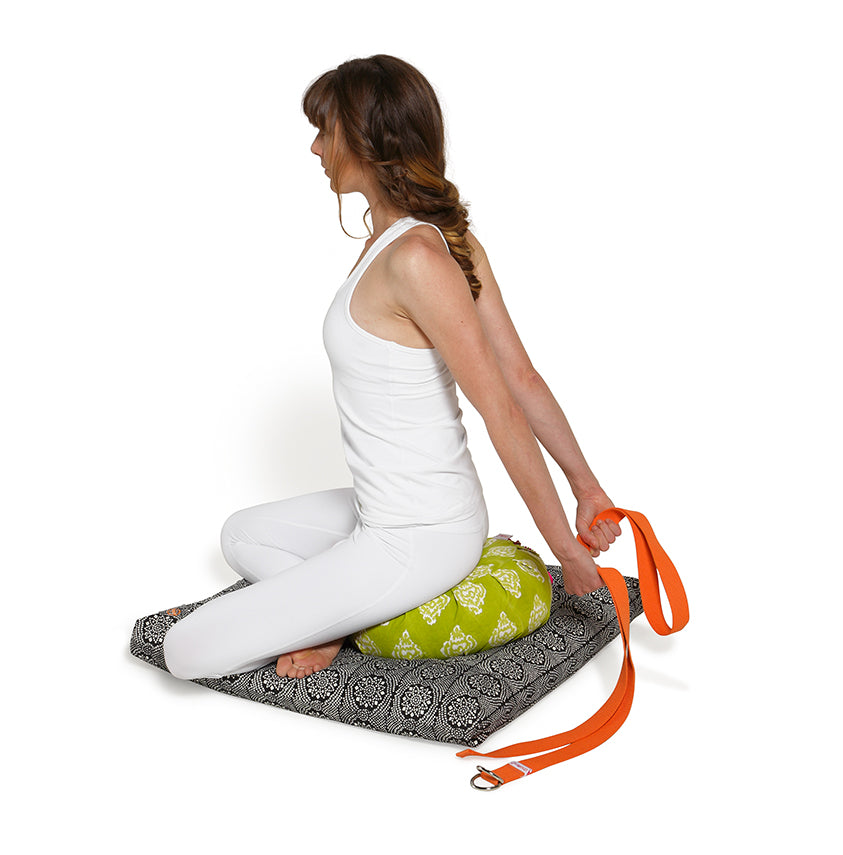Zafu Meditation Cushion Slate Darpan