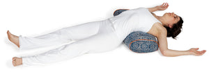 Standard Oval Yoga Bolster Pomegranate Feather