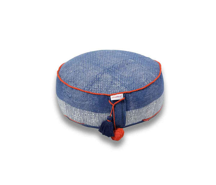 Zafu Meditation Cushion Denim Dhaan