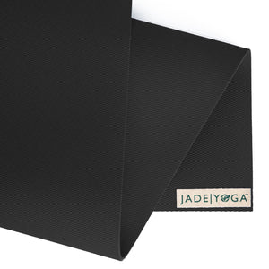 "Travel Mat by Jade Yoga 68"" Black"