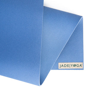 "Harmony Mat by Jade Yoga 68"" Slate Blue"