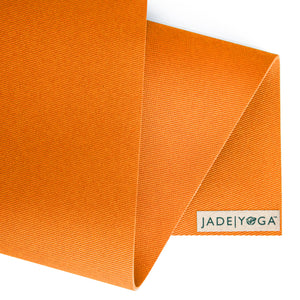 "Harmony Mat by Jade Yoga 68"" Tibetan Orange"