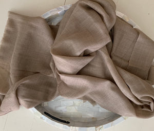 Under the Same Sky :: Giving Pashmina Wrap, light taupe
