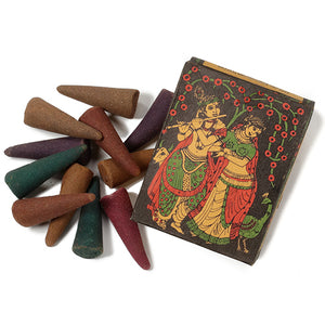 Incense Cones -- Namaste Herbal in 6 scents