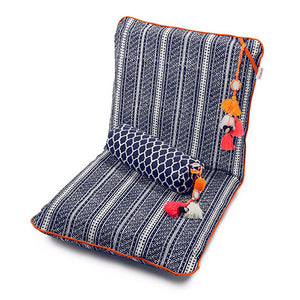 Zaisu Meditation Chair Navy Mehndi