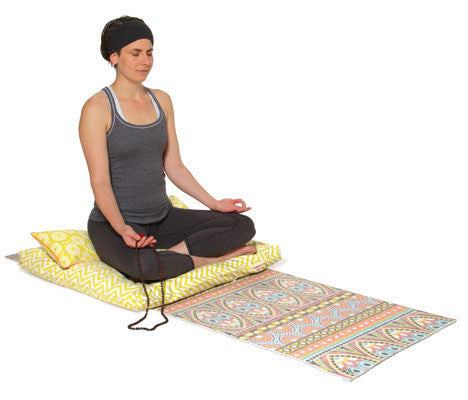 Yoga Mat -- Medallion Mosaic