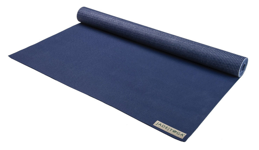 "Voyager Mat by Jade Yoga 68"" Midnight Blue"