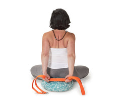 Sky Feather Zafu Meditation Cushion
