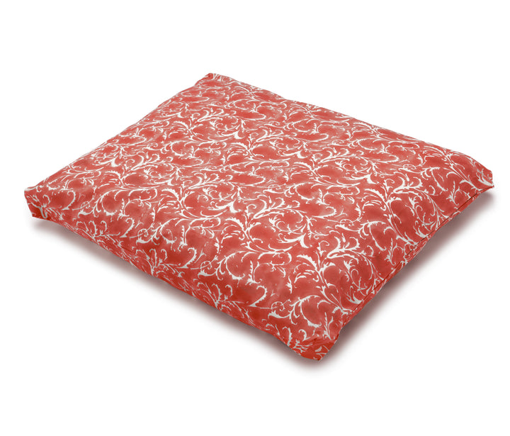 Zabuton Meditation Cushion Pomegranate Feather