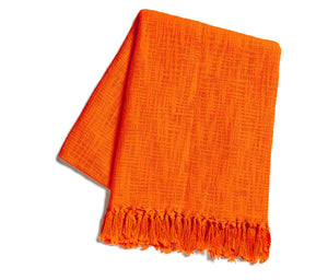 Savasana Throw Orange