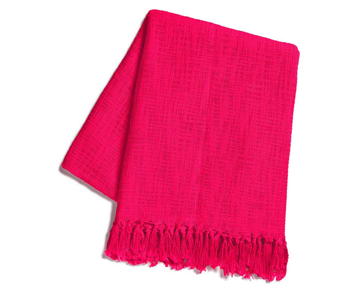 Savasana Throw Fuchsia